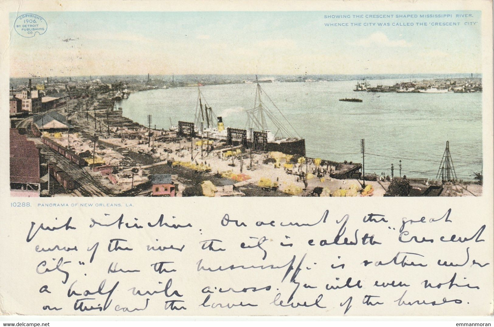 Panorama Of New Orleans - 1909 - Other