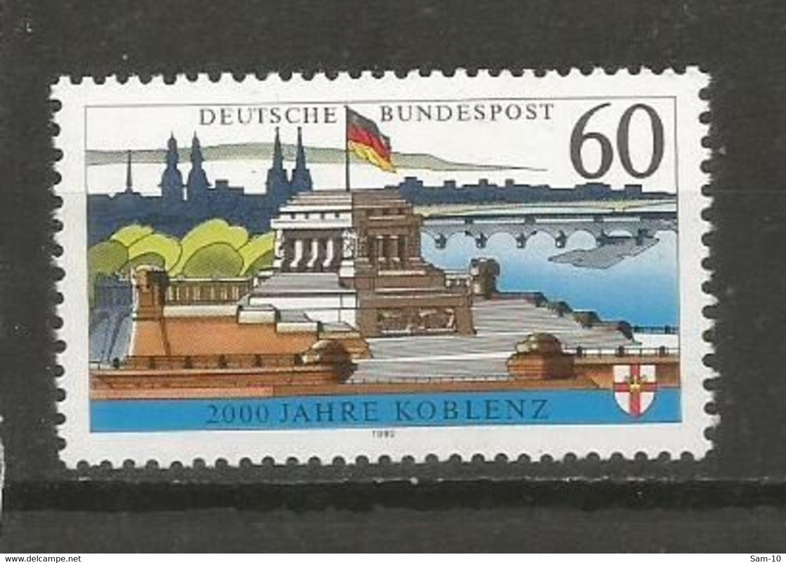 Timbre Allemagne Fédérale Neuf **   N 1415 - Nuovi