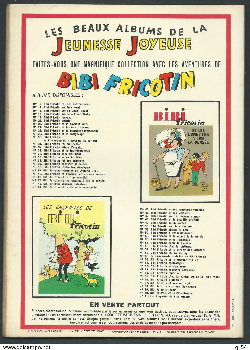 N°    59 . Les Pieds Nickelés Contre Croquenot FAU 9302 - Pieds Nickelés, Les