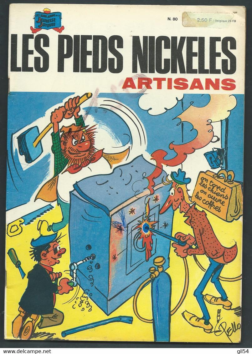 N°    80 . Les Pieds Nickelés Artisans      FAU 9305 - Pieds Nickelés, Les