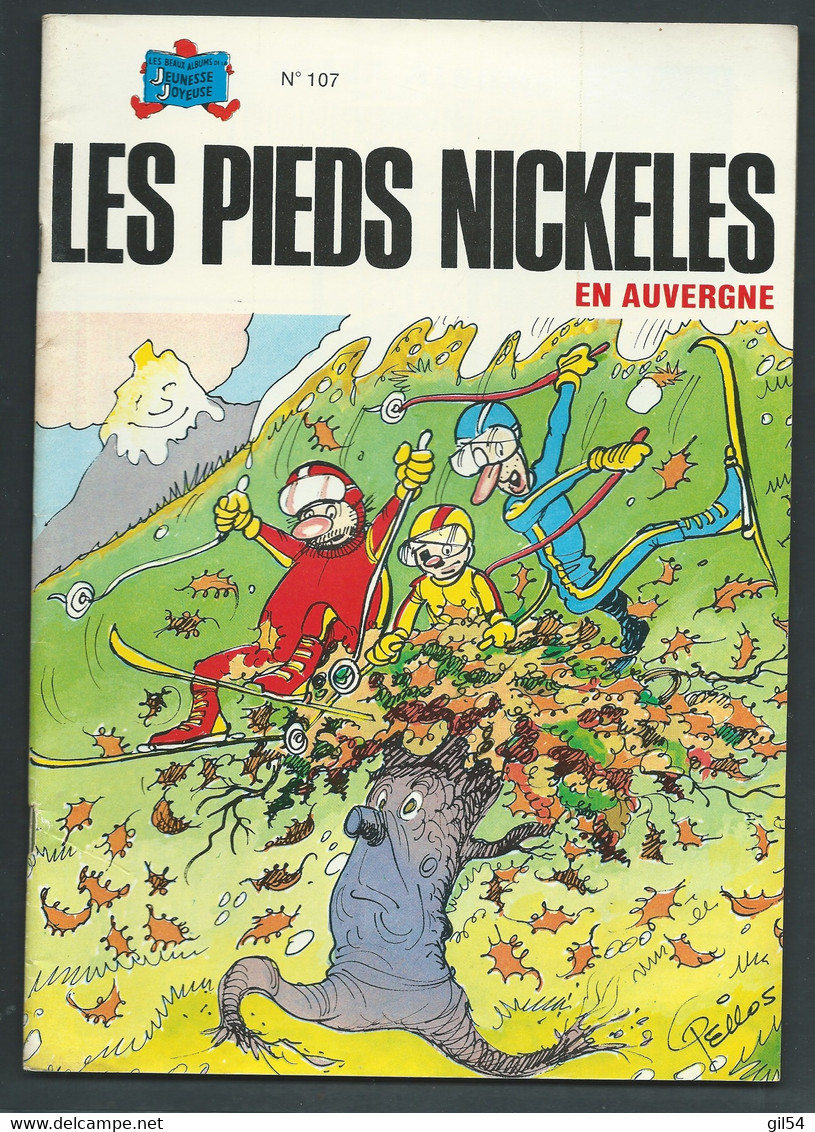 N°  107 . Les Pieds Nickelés En Auvergne   FAU 9310 - Pieds Nickelés, Les