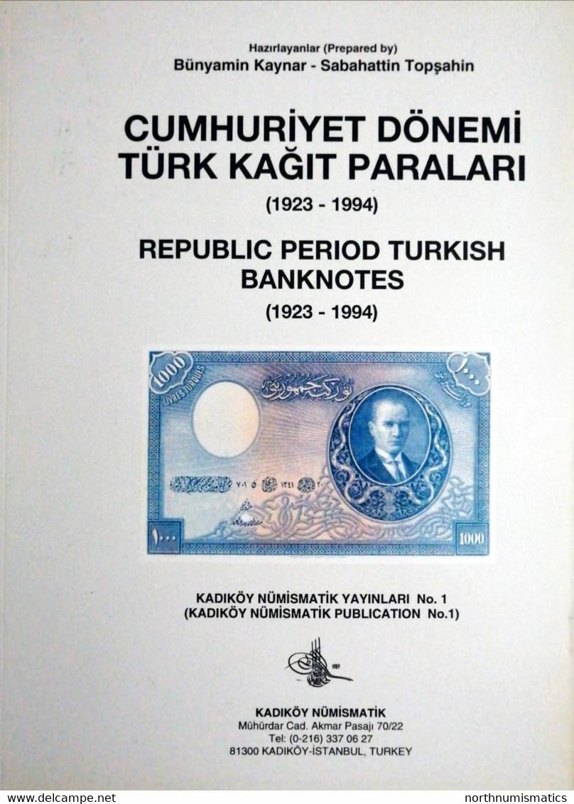 Cumhuriyet Dönemi Türk Kağıt Paraları 1994 - Other