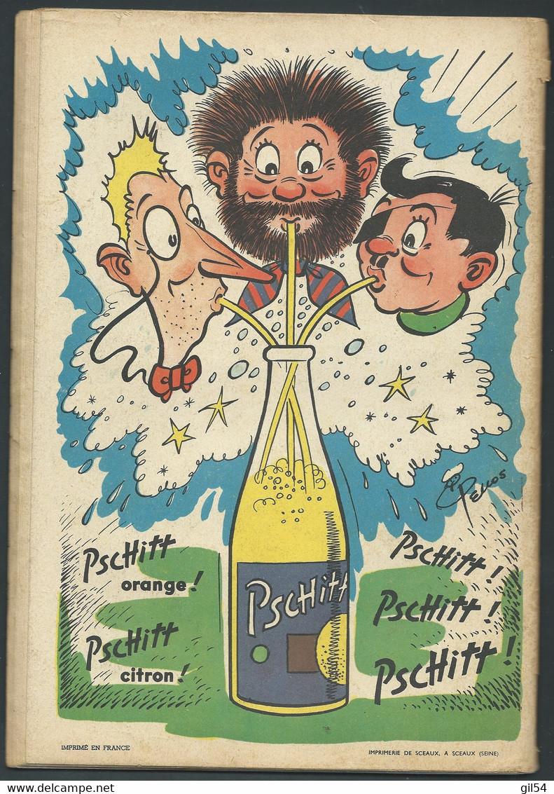 N°44 . Les Pieds Nickelés Cinéastes, Douaniers, Pharmaciens FAU 9511 - Pieds Nickelés, Les
