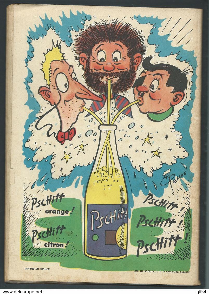 N° 40 . Les Pieds Nickelés Et Leur Fusée Atomique  FAU 9503 - Pieds Nickelés, Les