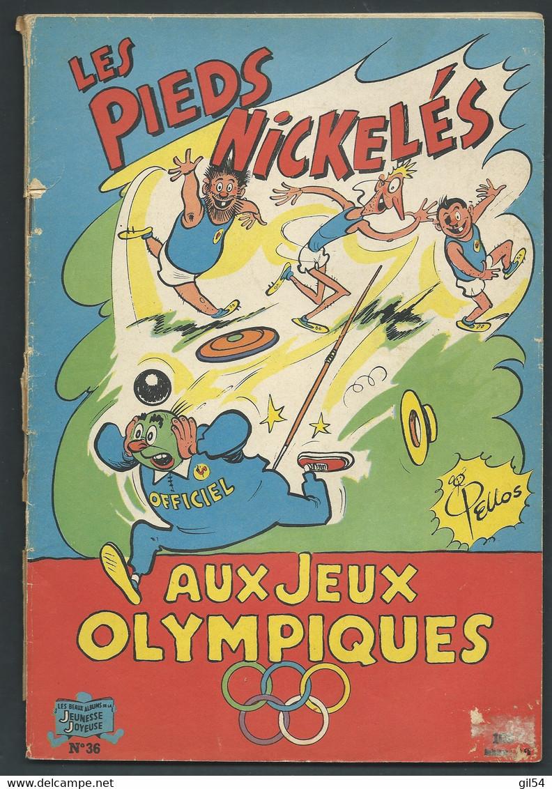 N° 36 . Les Pieds Nickelés Aux Jeux Olympiques  FAU 9509 - Pieds Nickelés, Les