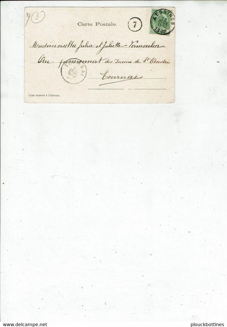 LESSINES/OLLIGNIES  1902 /3 - Lessines