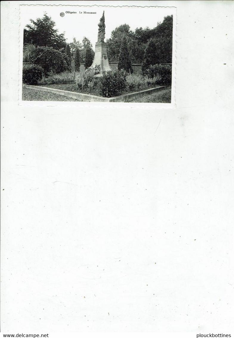 LESSINES/OLLIGNIES  LE MONUMENT /8 - Lessines
