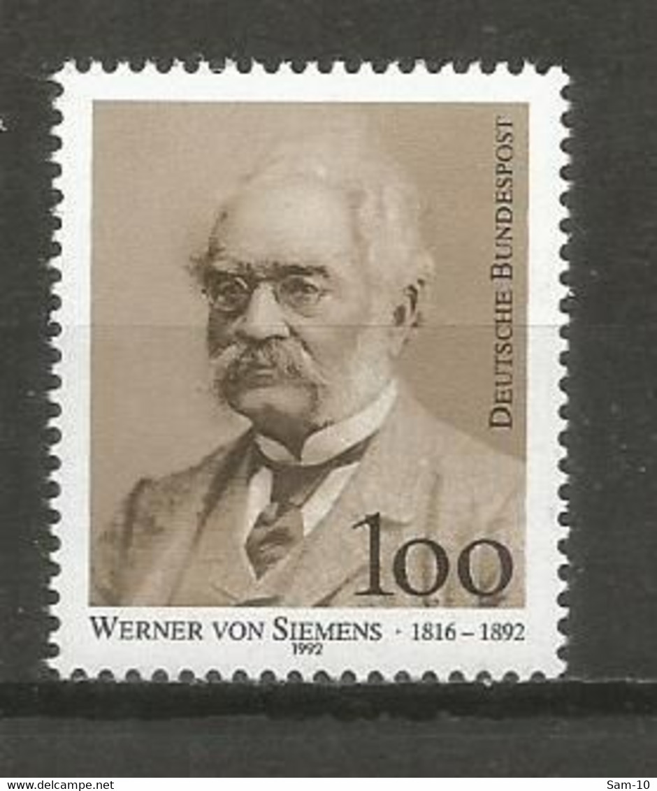 Timbre Allemagne Fédérale Neuf **  N 1474 - Nuovi