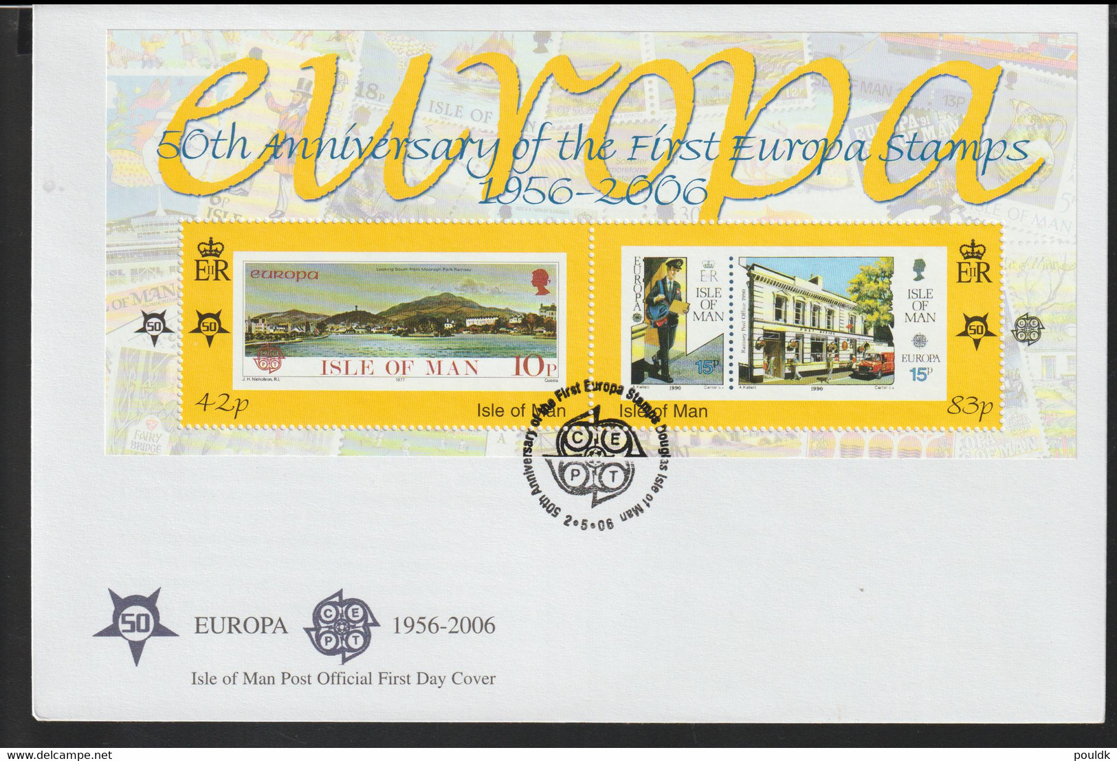 Isle Of Man FDC 2006 Europa CEPT Souvenir Sheet (LG14) - 2006