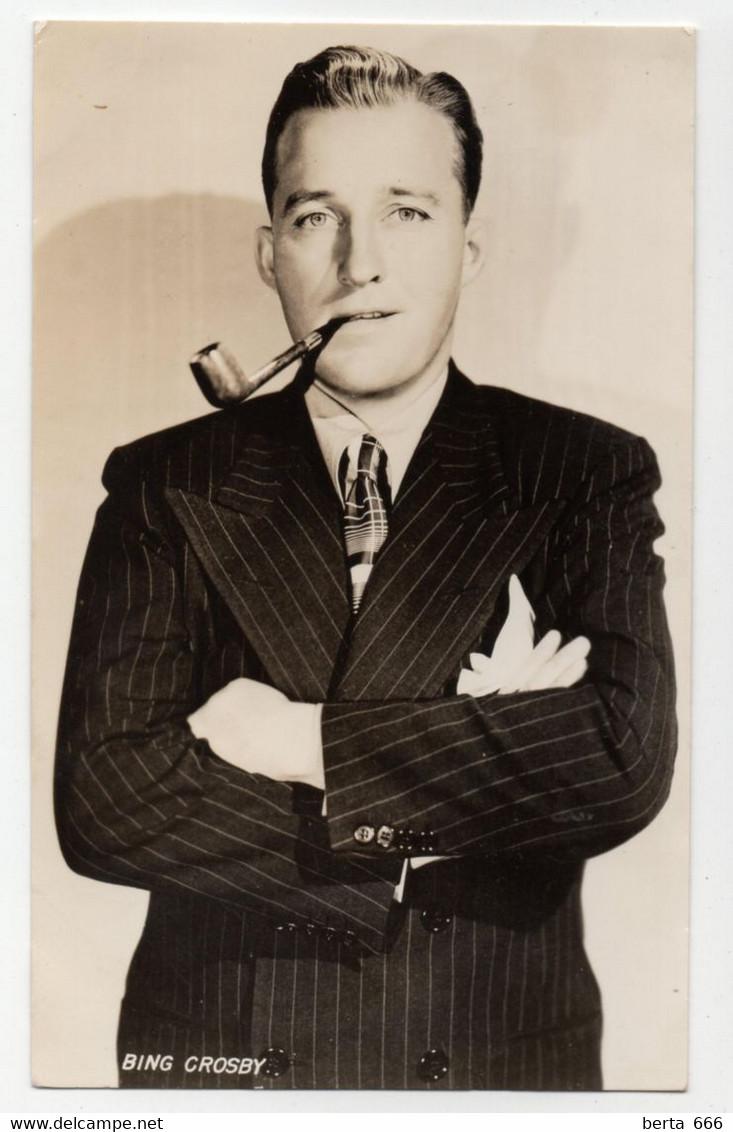 Bing Crosby Vintage Real Photo - Beroemde Personen
