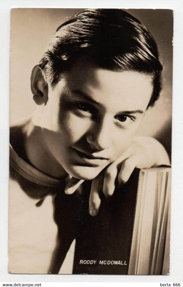 Roddy McDowall Vintage Real Photo - Beroemde Personen