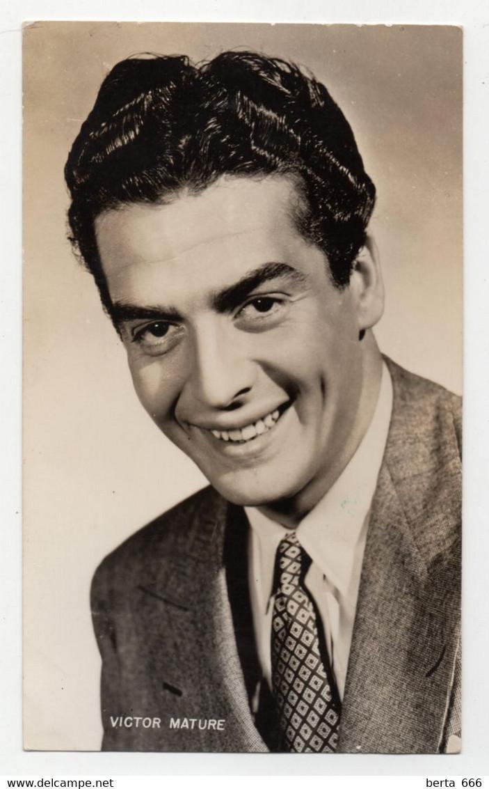 Victor Mature Vintage Real Photo - Beroemde Personen