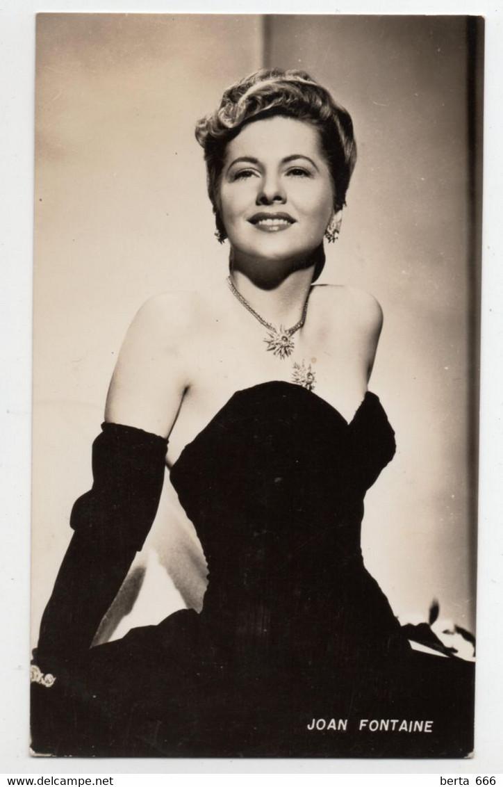 Joan Fontaine Vintage Real Photo - Beroemde Personen