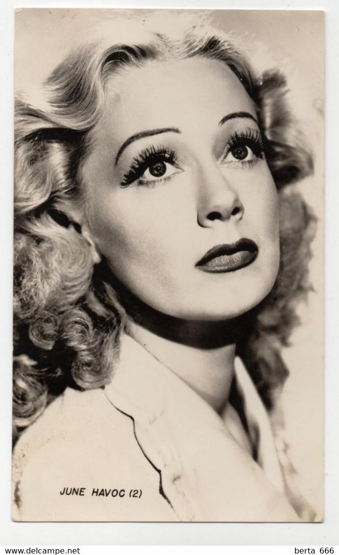 June Havoc Vintage Real Photo - Beroemde Personen