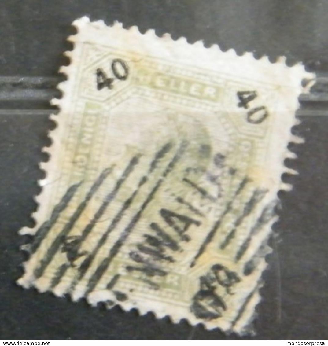 MZ129 - AUSTRIA 1901 - VALORE  USATO  40H  - IMPERATORE FRANCESCO GIUSEPPE - Sin Clasificación