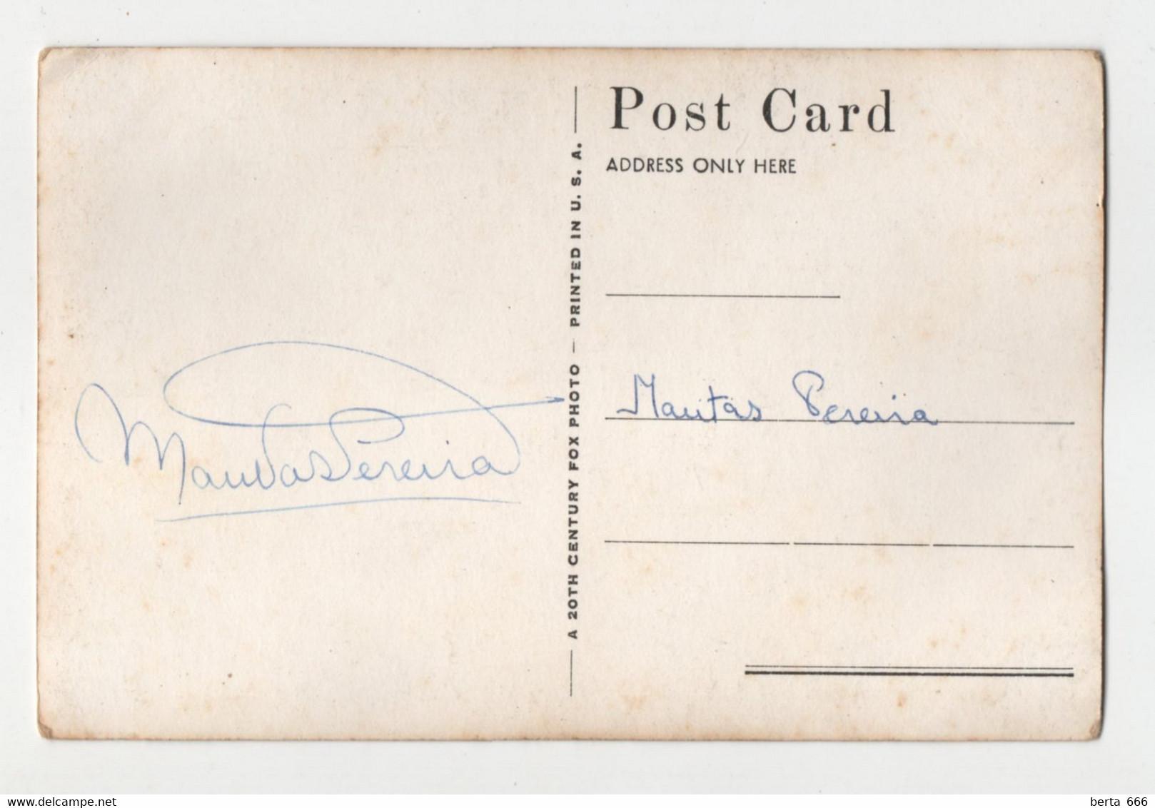 William Marshal Actor Real Photo Vintage Postcard - Acteurs