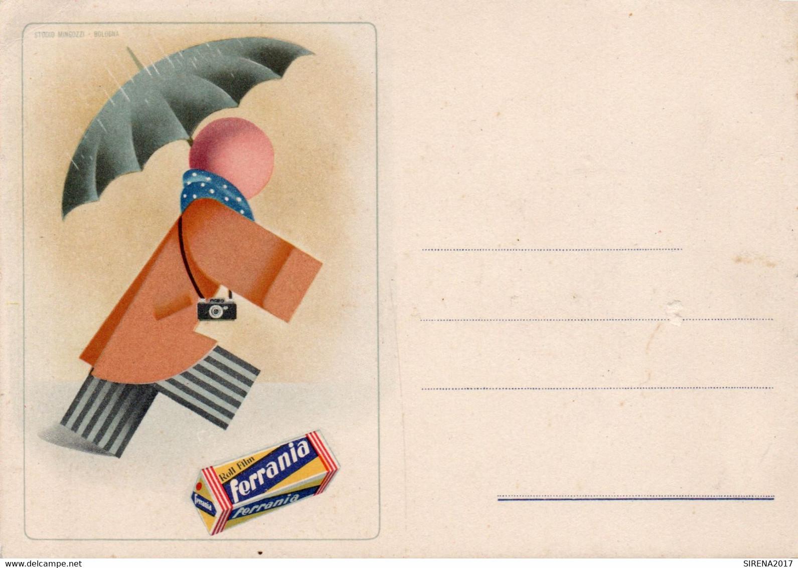FERRANIA - NON VIAGGIATA - Werbepostkarten