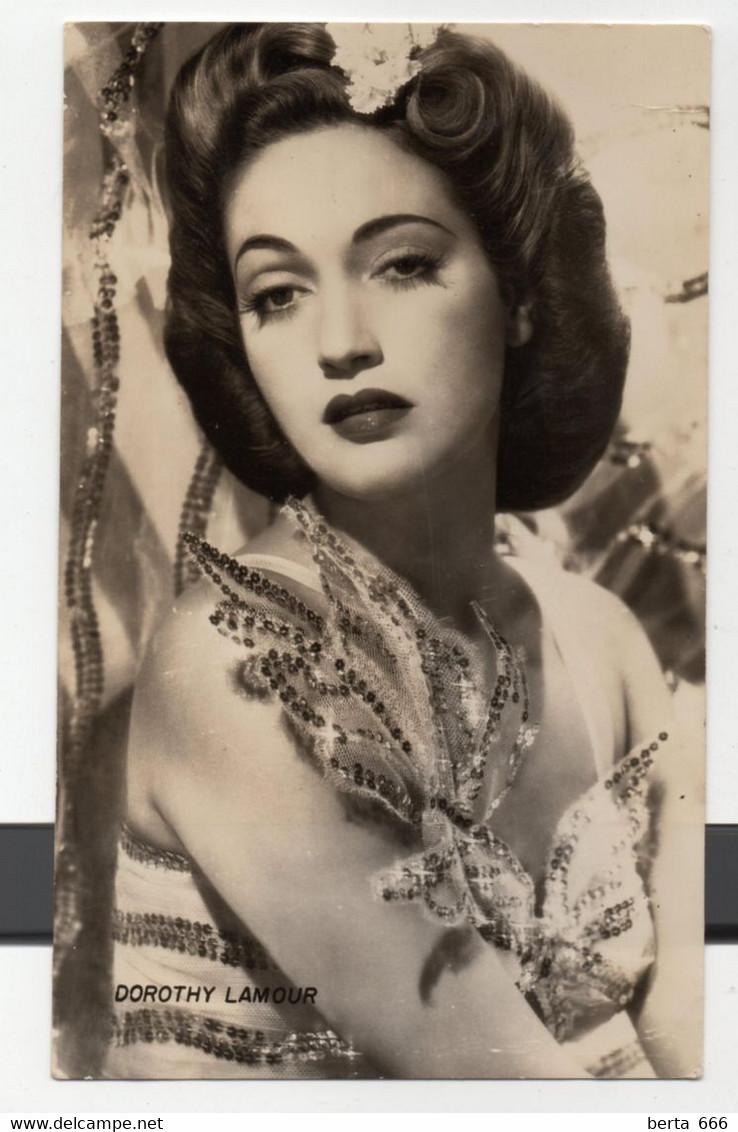 Dorothy Lamour Actress Original Real Photo - Beroemde Personen