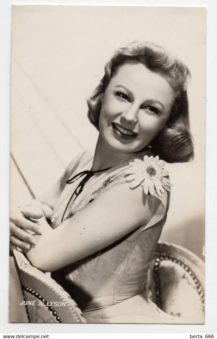 June Allyson Actress Original Real Photo - Beroemde Personen