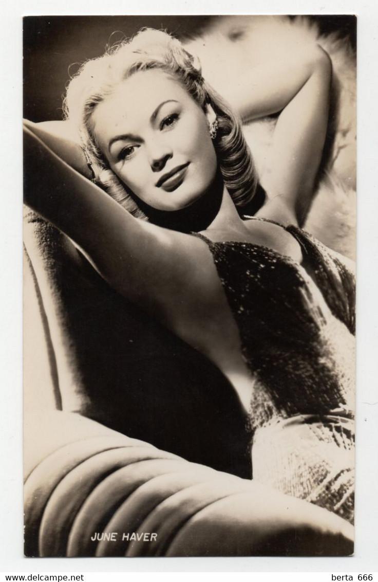 June Haver Actress Original Real Photo - Beroemde Personen