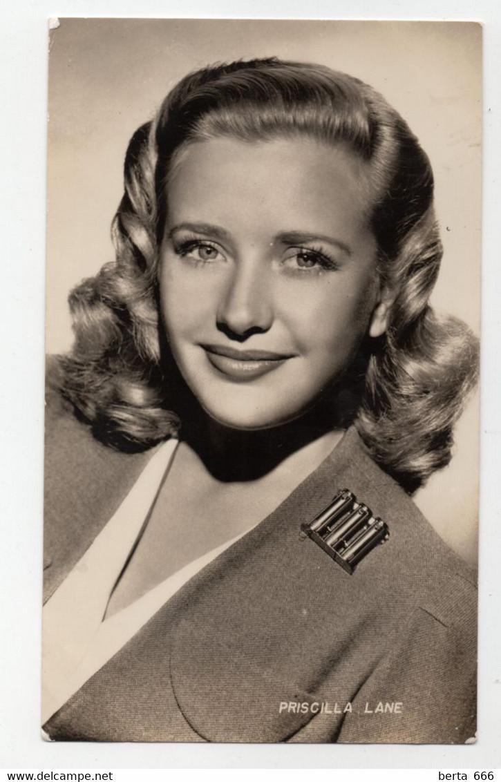 Priscilla Lane Actress Original Real Photo - Beroemde Personen