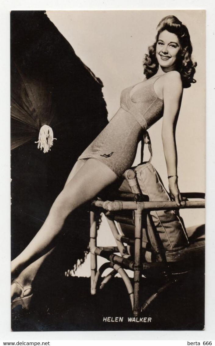 Helen Walker Actress Original Real Photo - Personalità