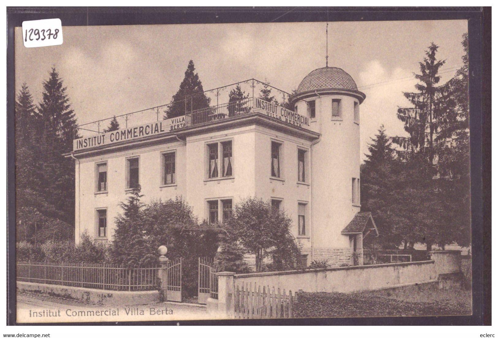 KRIENS - INSTITUT COMMERCIAL VILLA BERTA - TB - LU Lucerne