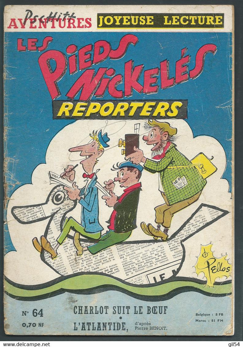 N° 64 . LES PIEDS NICKELES REPORTERS   FAU 9610 - Pieds Nickelés, Les
