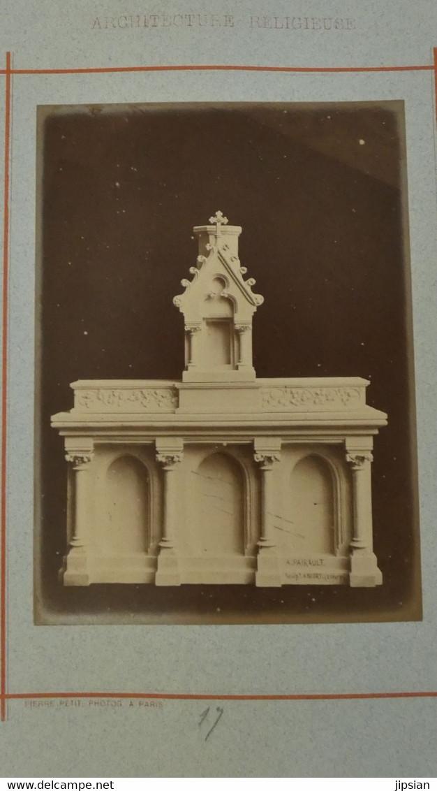 Par Pierre Petit (1831- 1905) 29 Photos Albuminées 18 X 13 Cm Architecture Religieuse éditée Par Pairault Thézard --- GF - Famous People
