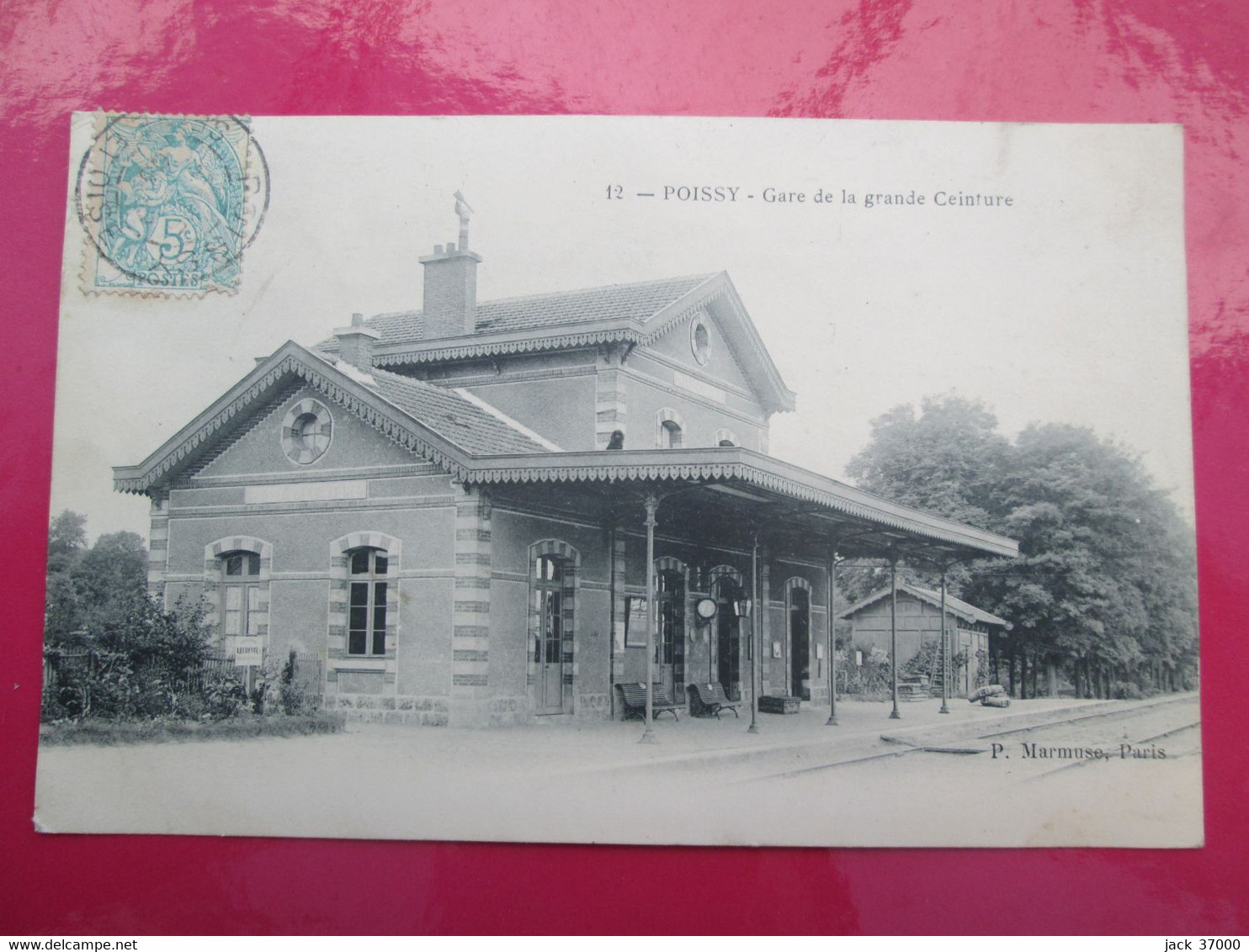 POISSY   Gare De La Grande Ceinture - Poissy