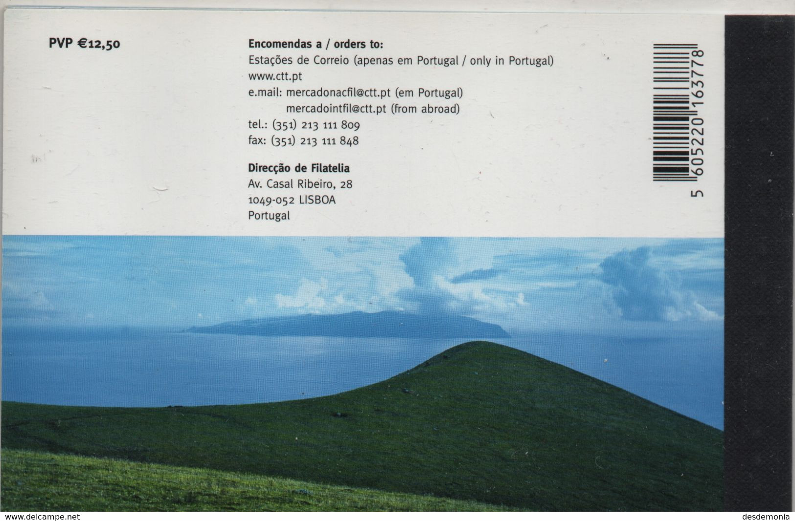 Europa Portugal Acores Yvert Carnet Prestige 2006 ** Dessin Enfant Volcan Vin Faune Fumeur Noir - 2006
