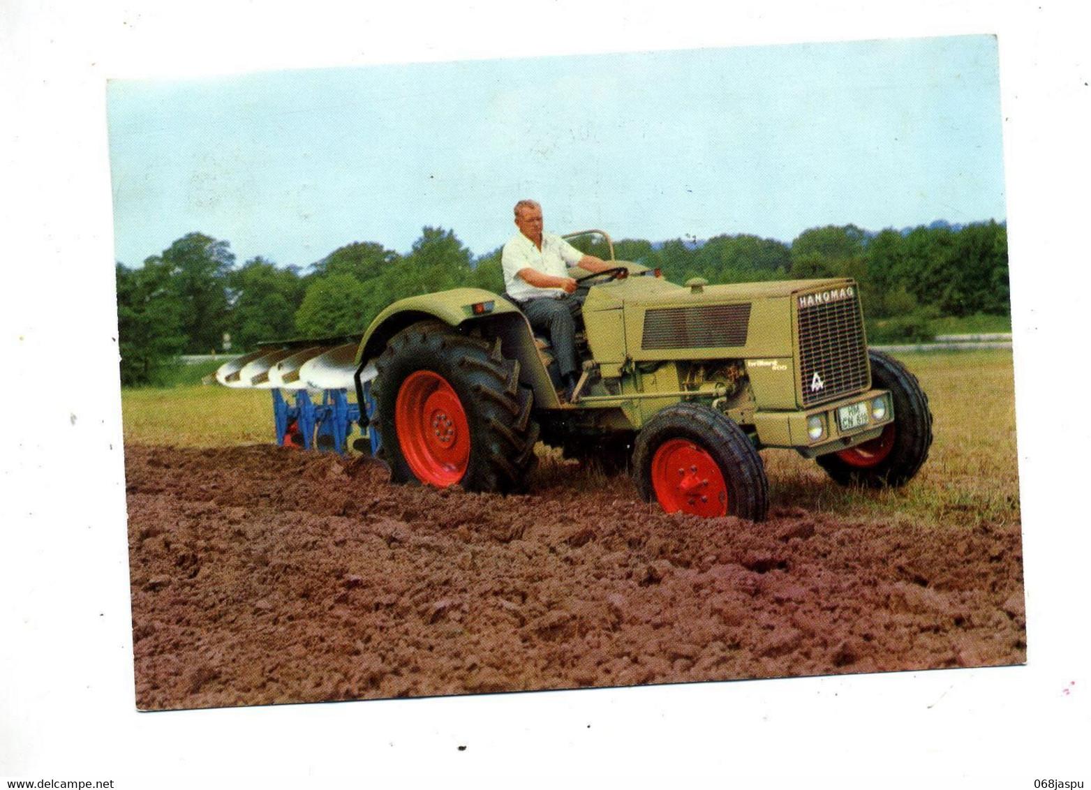 Carte Tracteur Hanomag Brillant 600 Flamme Muette Lingolsheim - Tractors