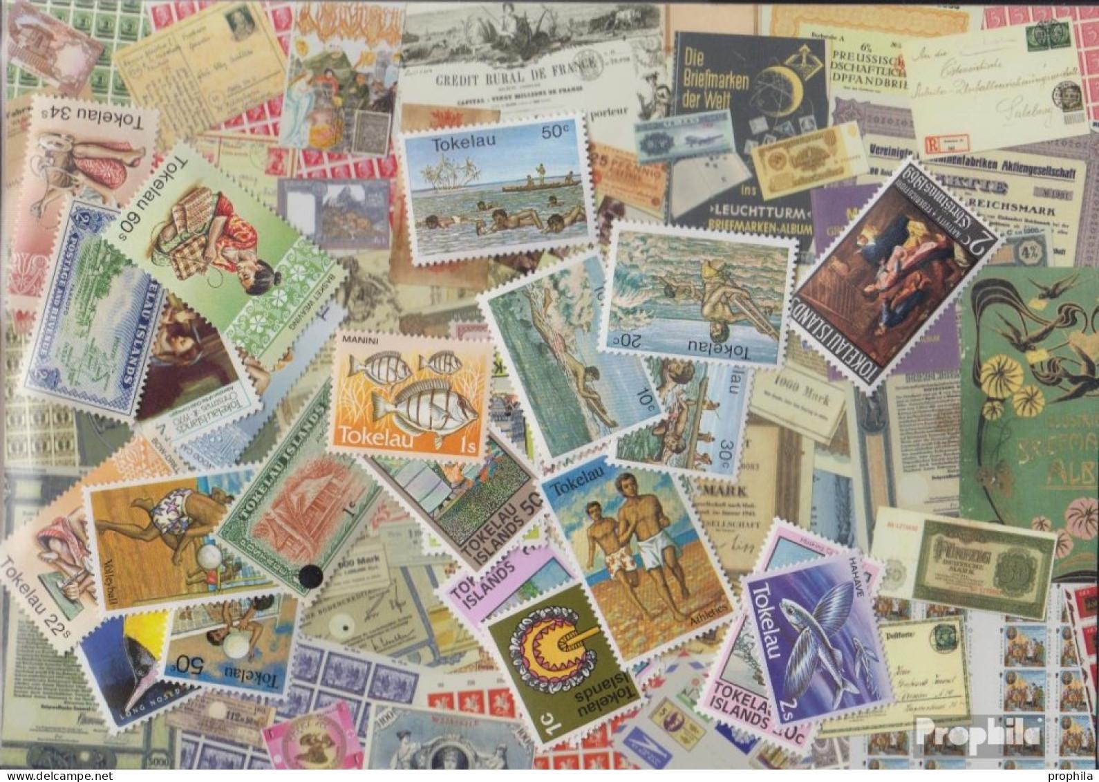 Tokelau Briefmarken-25 Verschiedene Marken - Tokelau