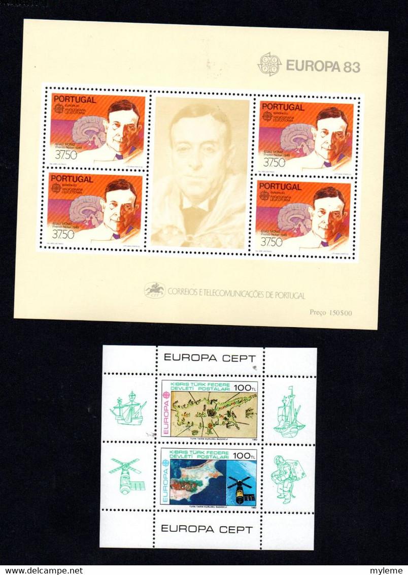 S156 Ensemble D'Europa ** De L'année 1983 Dont Bonnes Valeurs A Saisir  !!! - Verzamelingen (in Albums)