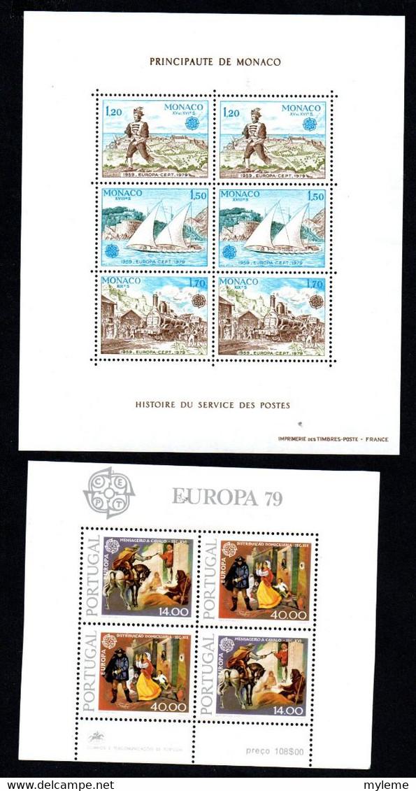 S158 Ensemble D'Europa ** De L'année 1979 Dont Bonnes Valeurs A Saisir  !!! - Collections (with Albums)