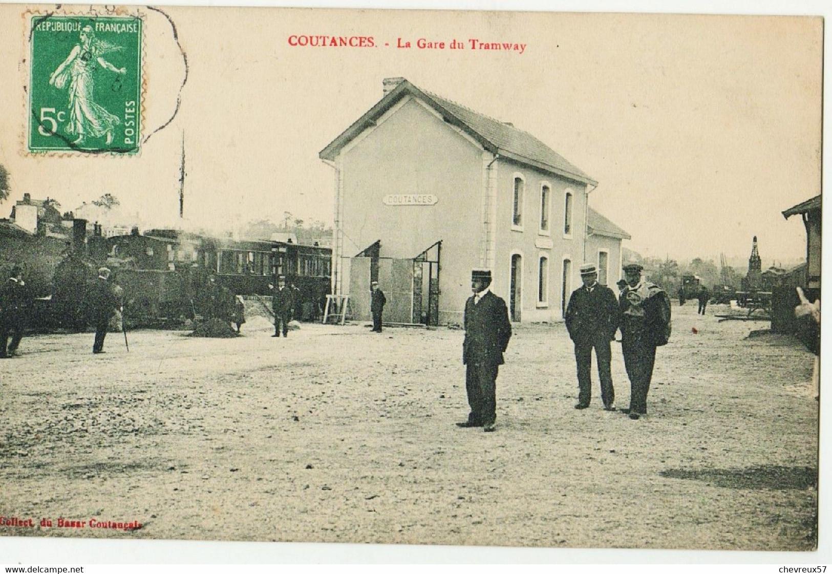 COUTANCES. - La Gare Du Tramway - Coutances