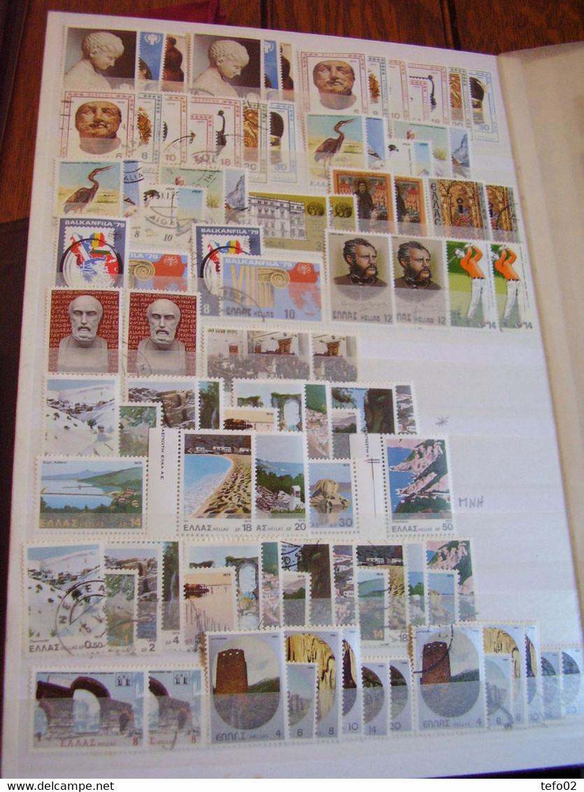 Grecia. 1861/1985. Buona Collezione Abbastanza Avanzata MLH/o - Collections