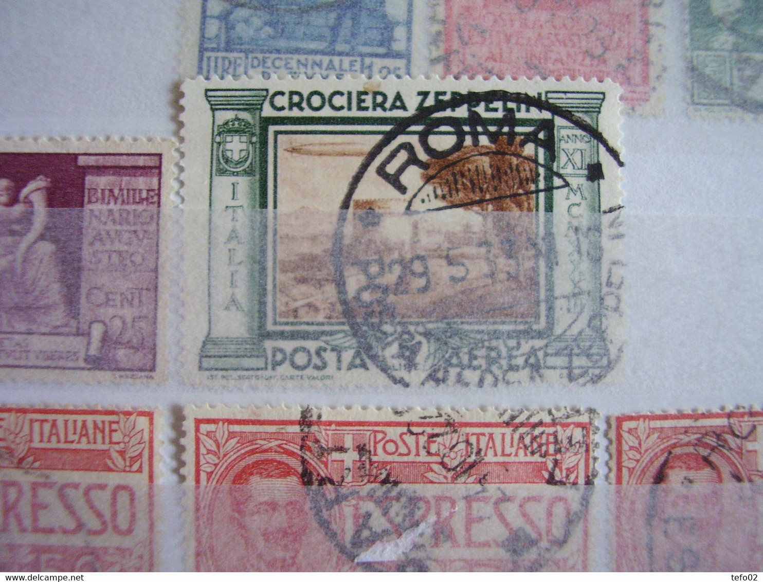 Italia. 1862/1954 Importante Collezione Usata. - Collections