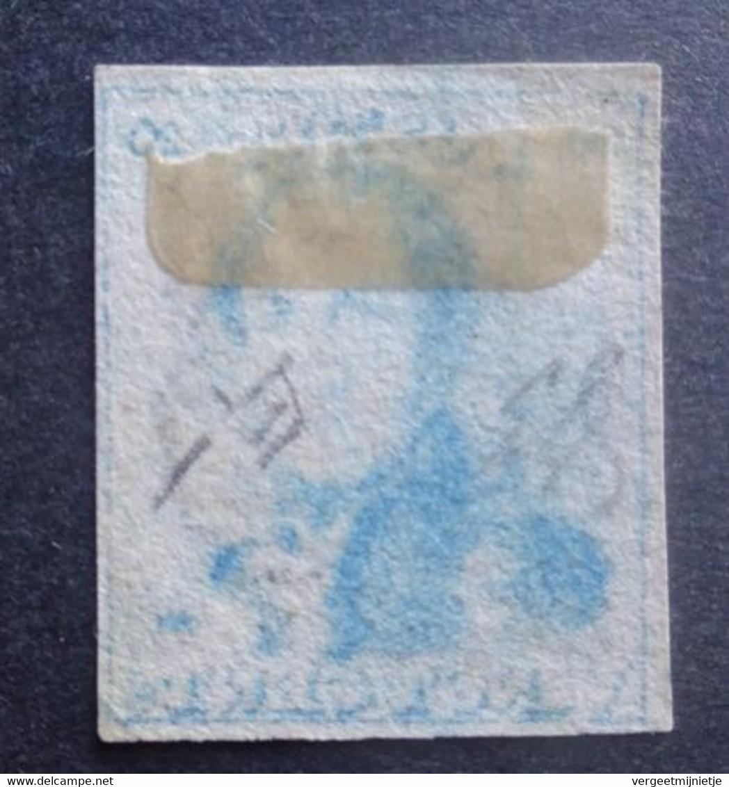 BELGIE  1849   Nr. 2 C     P 24    Gerand   Gestempeld    CW 175,00 - 1849 Epaulettes