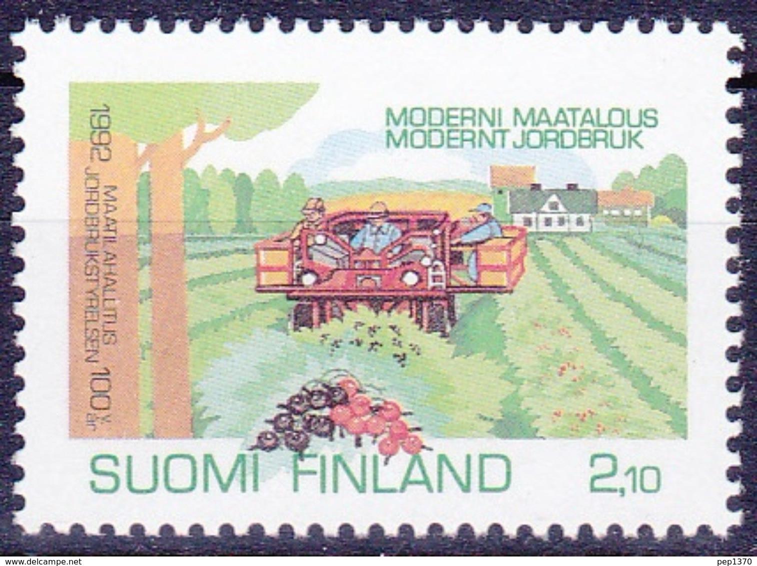 FINLANDIA 1992 - AGRICULTURA - YVERT Nº  1146** - Nuevos