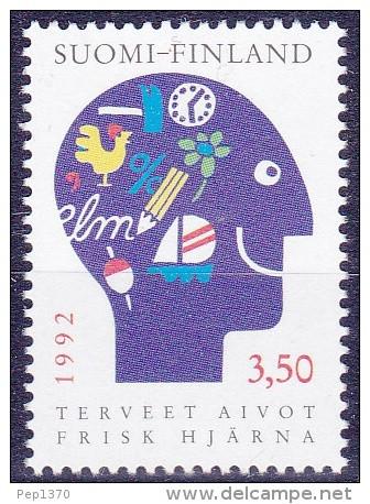 FINLANDIA 1992 - SALUD MENTAL - YVERT Nº 1134** - Nuevos