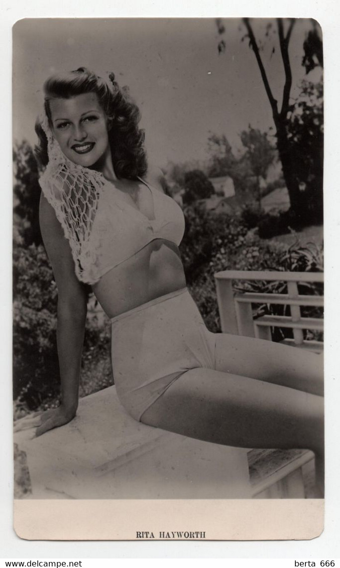 Rita Hayworth Actress MGM Vintage Real Photo - Beroemde Personen