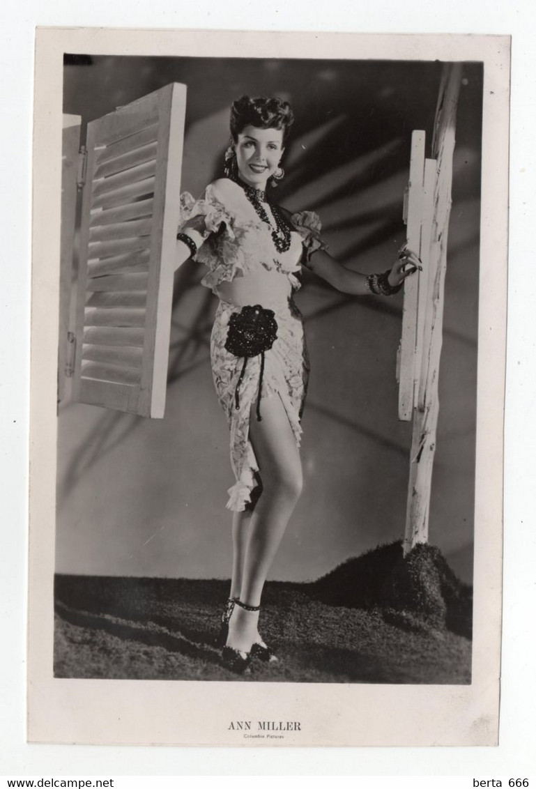 Ann Miller Actress MGM Vintage Real Photo - Beroemde Personen