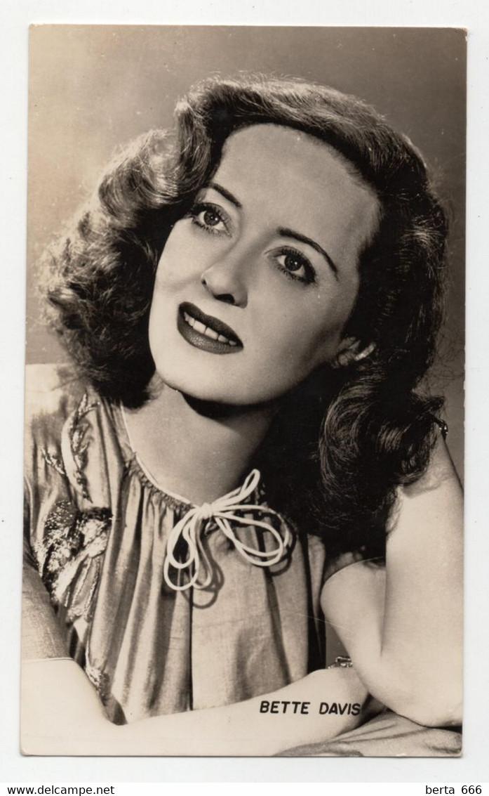 Bette Davis Actress Original Real Photo - Beroemde Personen