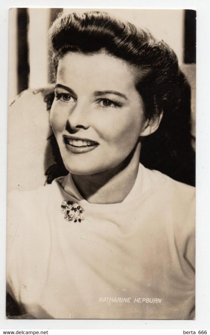 Katharine Hepburn Actress Original Real Photo - Beroemde Personen