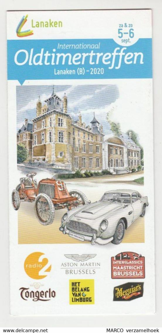 Brochure-leaflet Internationaal Oldtimertreffen Lanaken (B) 2020 - Altri
