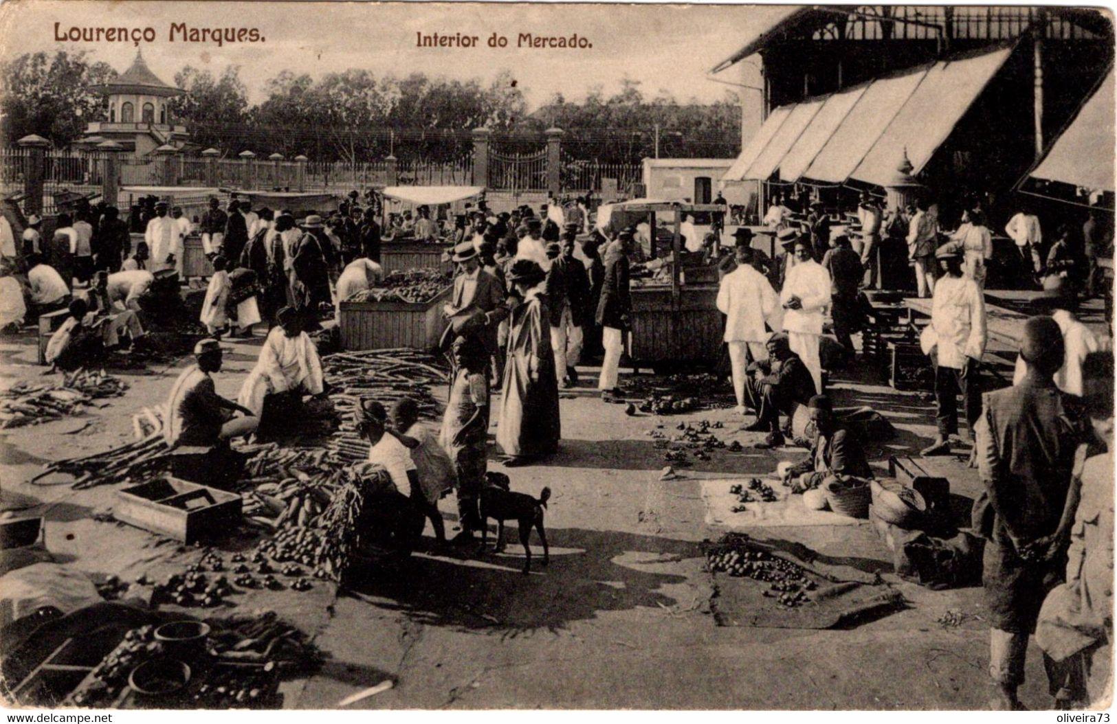 MOÇAMBIQUE - LOURENÇO MARQUES - Interior Do Mercado - Mozambique