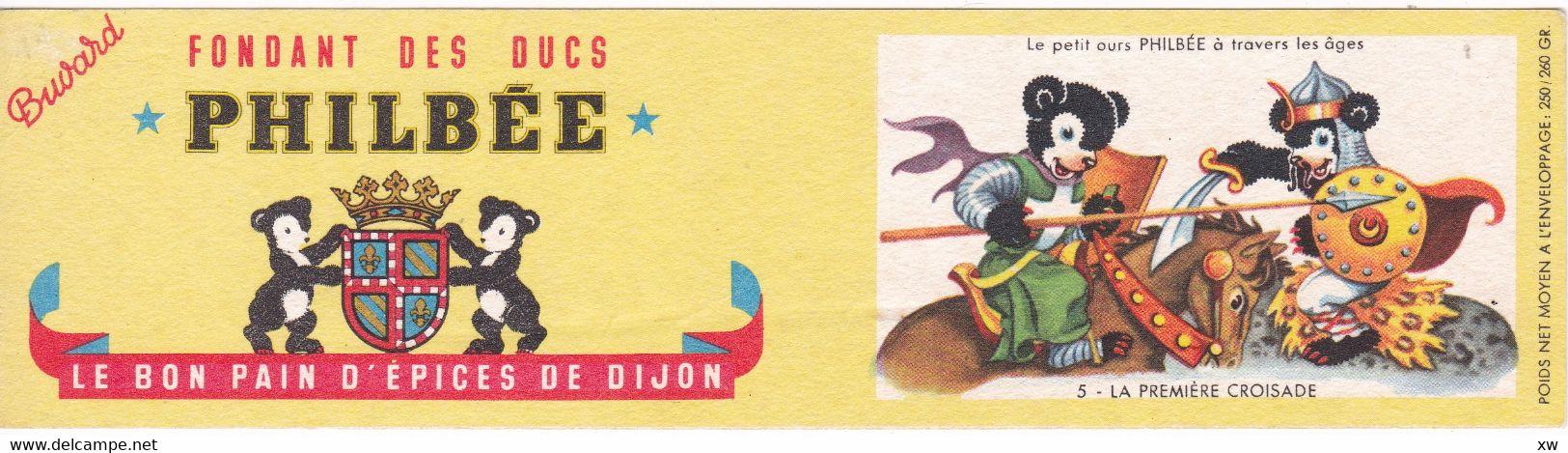 """BUVARD - Pain D'épices Fondant Des Ducs """"PHILBEE"""" Série PHILBEE à Travers Les âges - Gingerbread"""