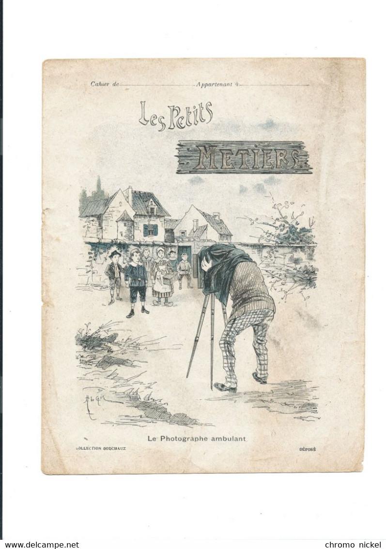Photographie Photographe Ambulant Les Petits Métiers  Protège-cahier Couverture 220 X 175  Bon état 3 Scans - Book Covers