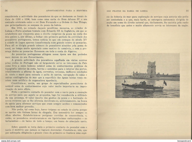 Lisboa - Apontamentos Para A História Dos Pilotos Da Barra De Lisboa, 1957 - Marinha - Barco - Navio - Paquete Portugal - Other